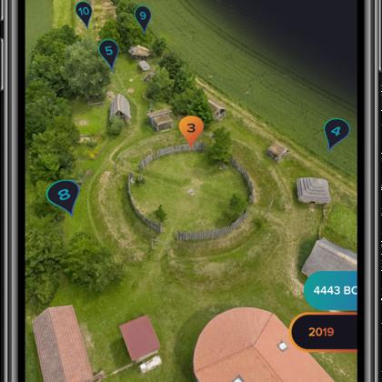 Texty k aplikaci Visit more (Archeopark Všestary)
