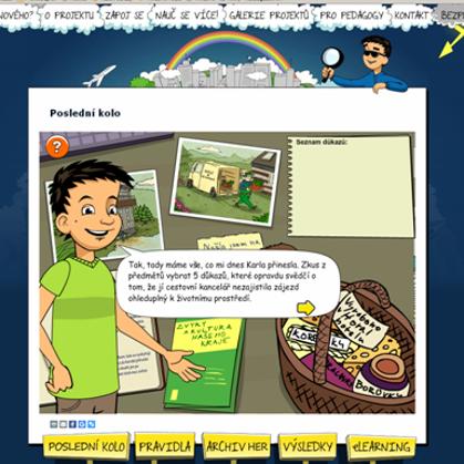 """Online simulační hra """"Hraj o Zemi"""" pro Respekt institut"""